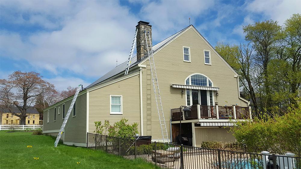 chimney repair at Midcoast Wildlife Solutions